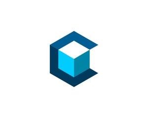 C box logo vector