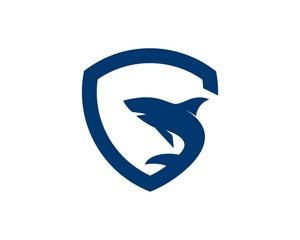 G shark logo vector
