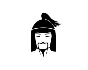 Asian general of war