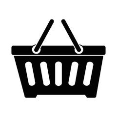 shopping basket isolated icon vector illustration design