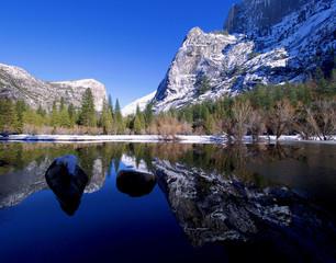 Winter Yosemite Lake