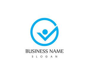 Check Mark People Logo