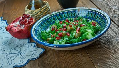 Olive Turkish salad