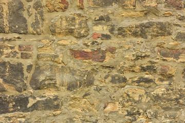 Fotobehang Oude vuile getextureerde muur Stone texture