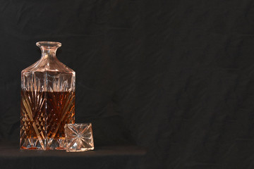 Crystal Glass Liquor Decanter
