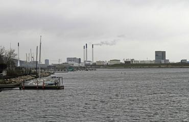 heavy industry in the Copenhagen harbor area