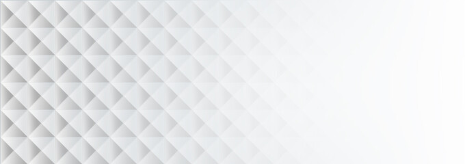 geometric white texture on a white background.