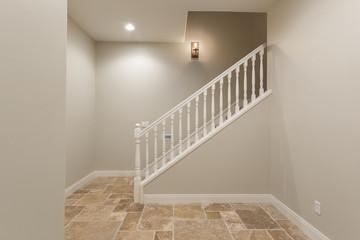 Basement Hallway Staircase