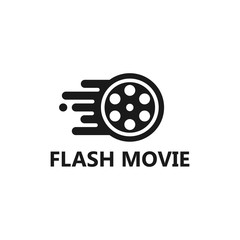 Flash Movie Logo Template Design