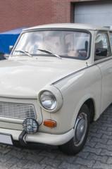 """Oldtimer car of the former Deutsche Demokratische Republic called """"Trabbi"""""""