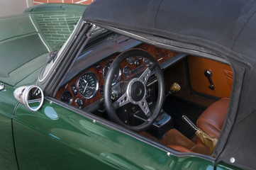 Triumph Spitfire Mark4 Green