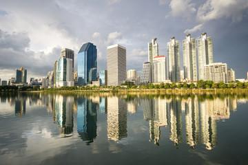 cityscape of bangkok city , landscape Thailand