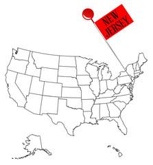 Knob Pin New Jersey