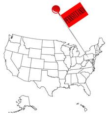 Knob Pin Pennsylvania