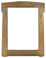 Old Wooden Frame Cutout