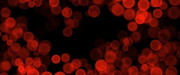Abstract bokeh christmas new year night scene black