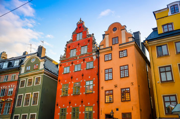 Foto auf Acrylglas Stockholm Altstadt Stockholm