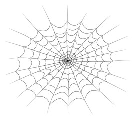 spider web vector symbol icon design. Beautiful illustration isolated on white background