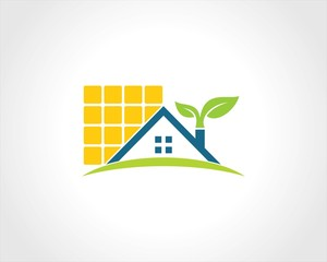 home green solar logo