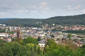 Marburg an der Lahn - Blick vom Schloss