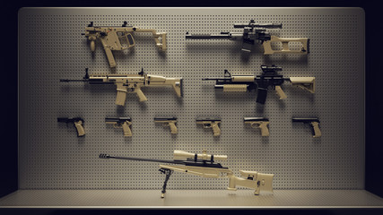 Firearms Display