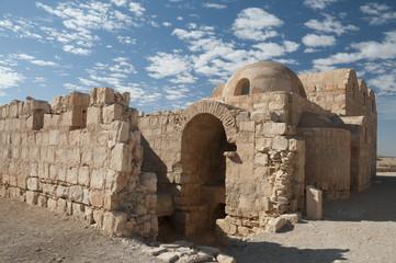 Qusayr Amra, a desert castle in Jordan