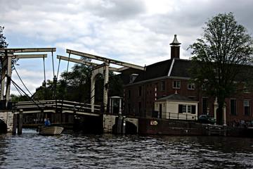 Los canales de Amsterdam (Holanda)