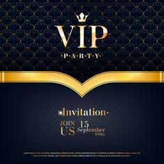 VIP invitation premium design background template.