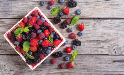 Photo of Berries background