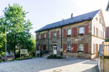 Rathaus von Himmelkron Bayern