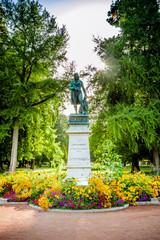 Statue de Claude Louis Berthollet dans le Parc de l'Europe à Annecy
