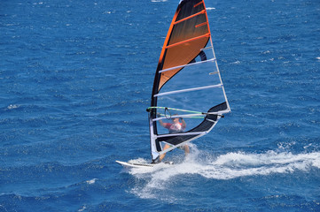 windsurfing, Red Sea, Egypt