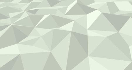 Ice 3D landscape. Crystal abstract texture. Vector geometric illustration.