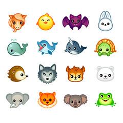 Kawaii animals, set II