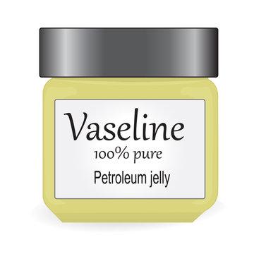 1407120 Bank of Vaseline vector illustration