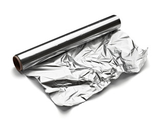 aluminum foil food kitchen silver