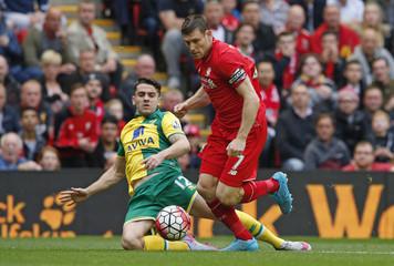 Liverpool v Norwich City - Barclays Premier League