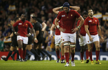 New Zealand v France - IRB Rugby World Cup 2015 Quarter Final