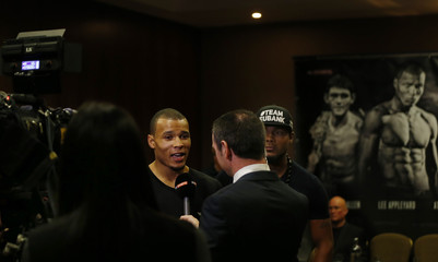 Chris Eubank Jnr & Tony Jeter Head-to-Head Press Conference