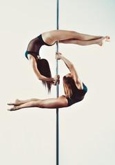 Pole dance team