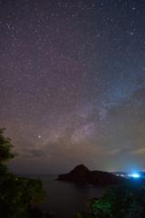 1407860 Milky way on stary sky