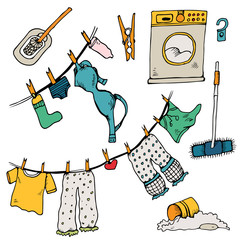 Set of clothes