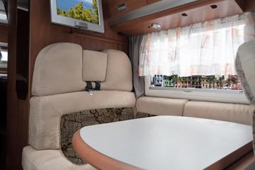Interior Luxury caravan