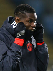 Manchester United's Paul Pogba during training