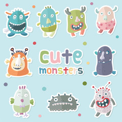 Monsters_Vector01