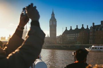 Making picture of the Big Ben
