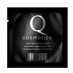 Realistic Black template Packaging