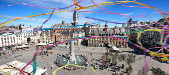 Lille (France) / Grand place