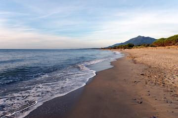 Figaretto plage du Tavagna en haute Corse