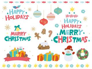 クリスマス かわいい デザイン イラスト